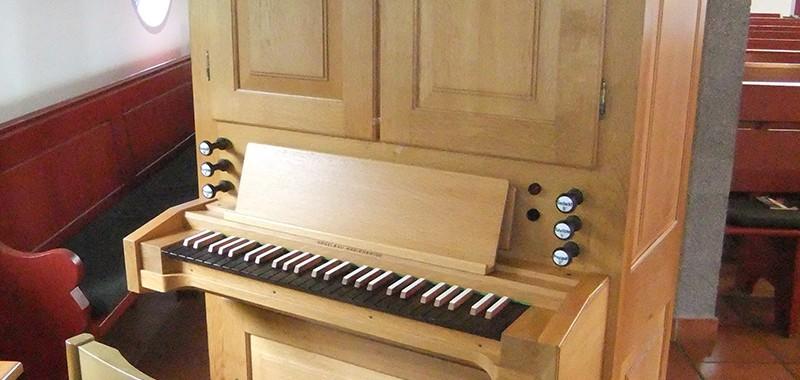 Friedhofskapelle Schledehausen Orgel